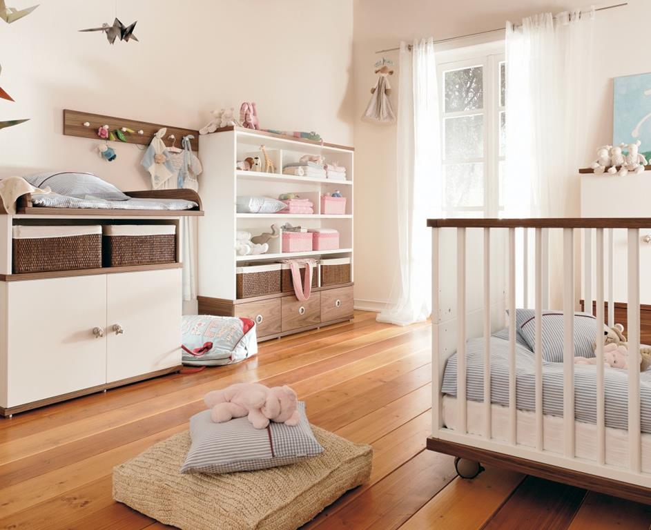 Дизайн комнаты младенца