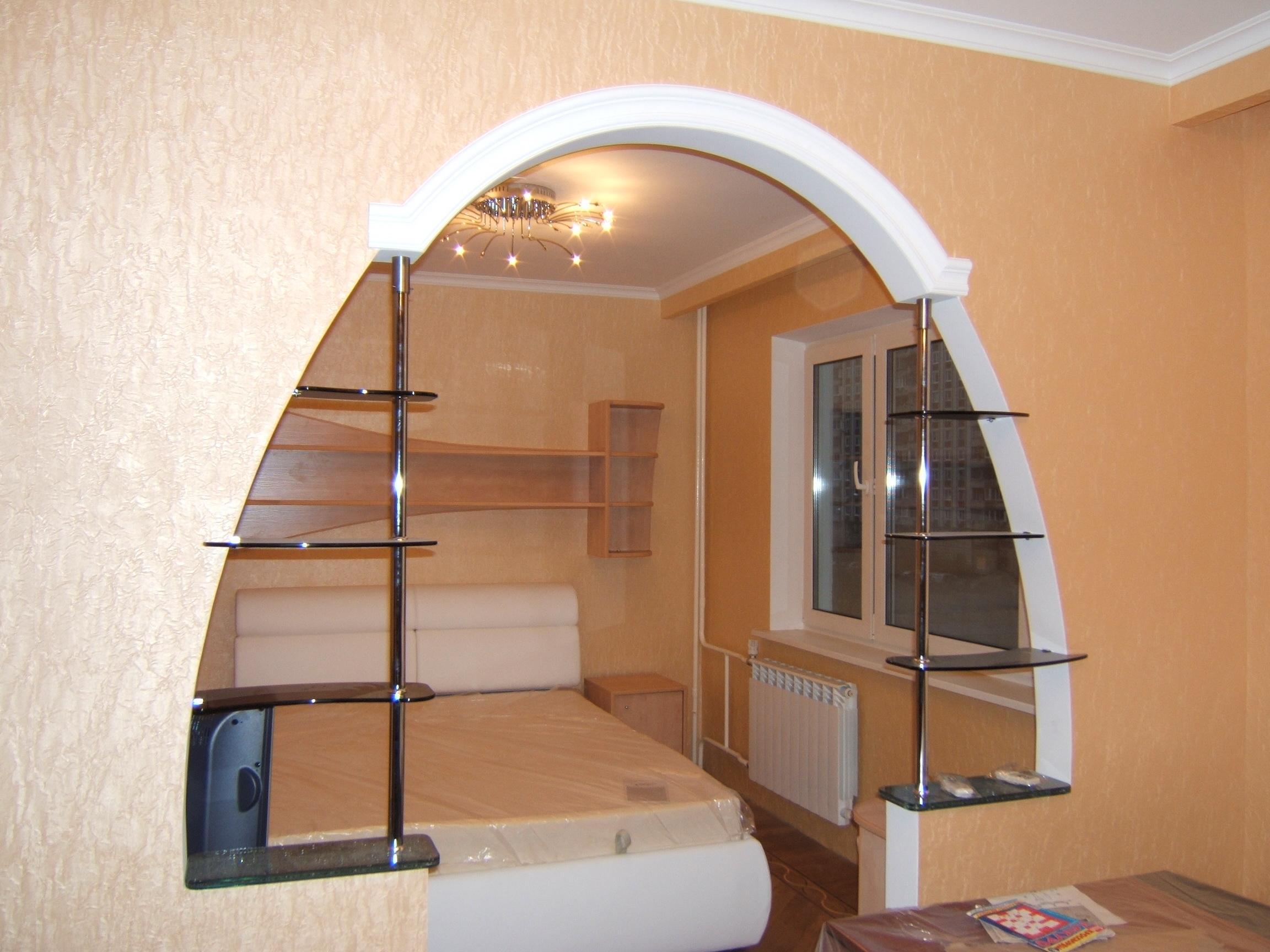 Декор арки в квартире фото