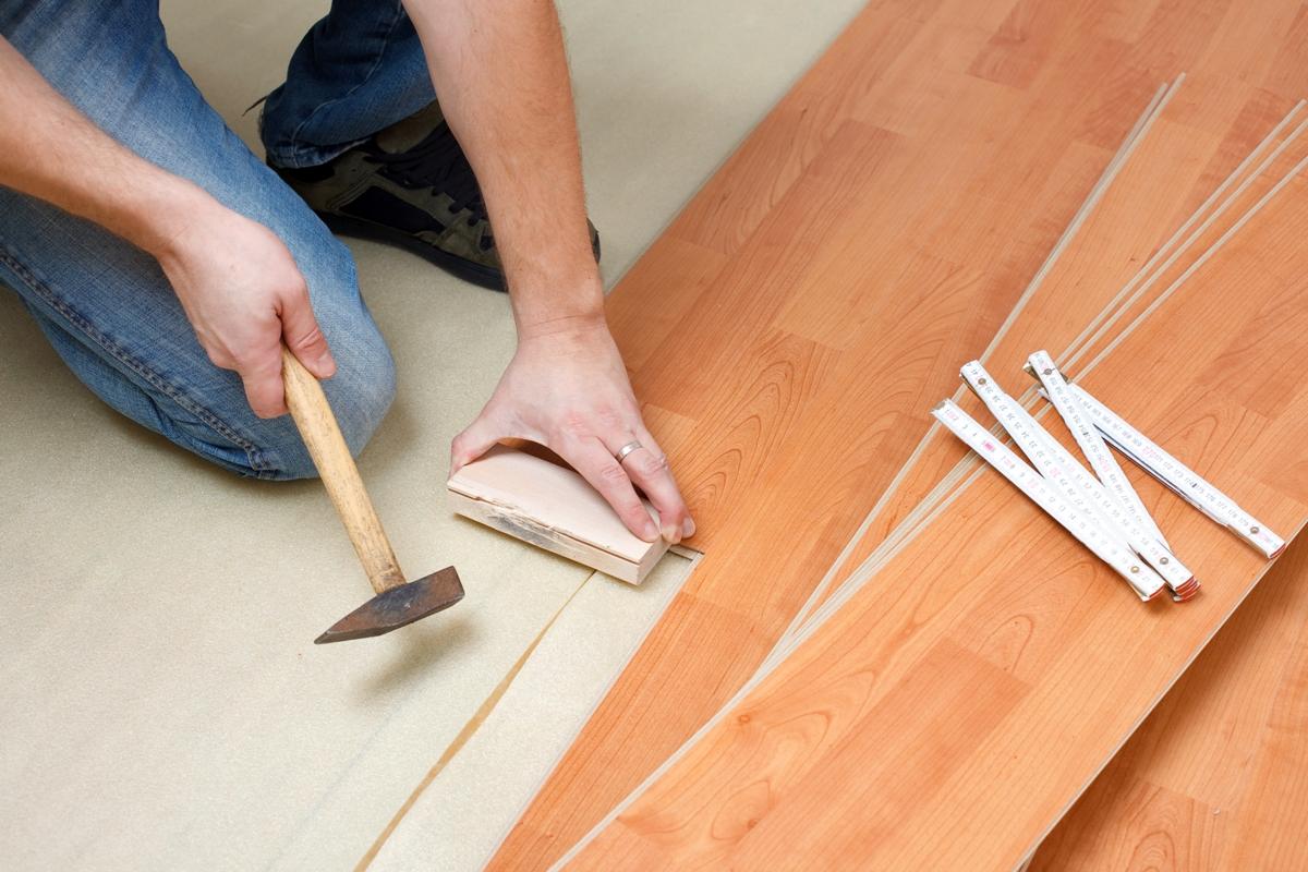 Подготовка пола для ламината своими руками