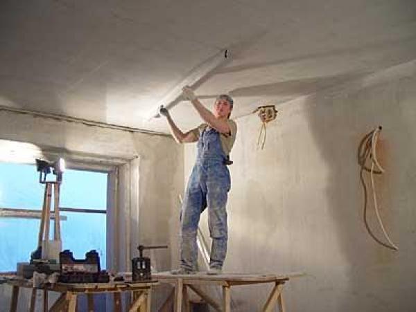 Чистовая отделка потолков своими руками 65